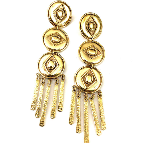 Inez Brass Earrings - La Mère Clothing + Goods