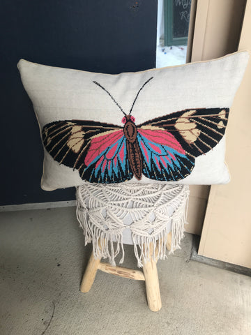 Fly Butterfly Fly Pillow