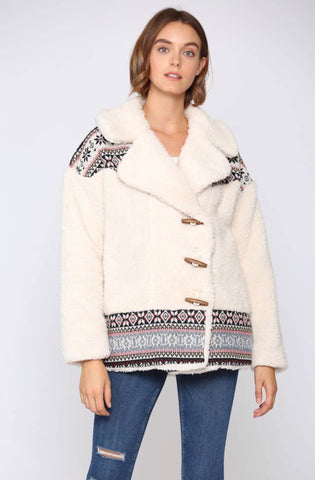 Soft Sherpa Jacket - La Mère Clothing + Goods