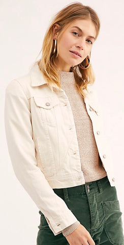 Rumors Ivory Denim Jacket