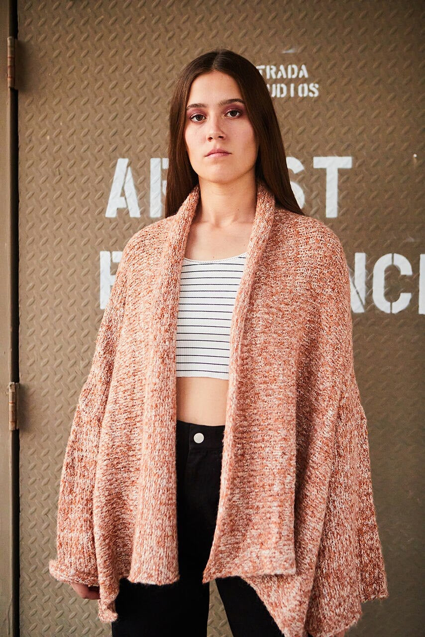 Bell Sleeve Dolman Oversized Knit Cardigan - La Mère Clothing + Goods