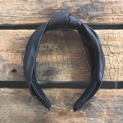 Vegan Leather Headbands