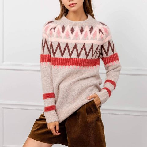Tribal Sweater - La Mère Clothing + Goods