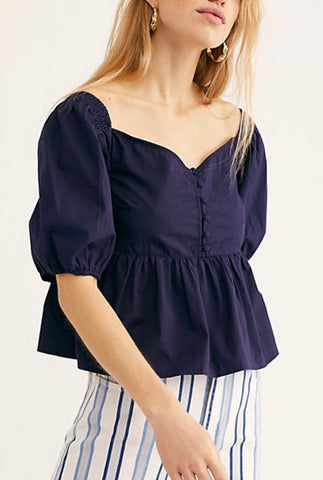 Veronica Sweetheart Top