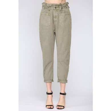 Washed Twill Pant