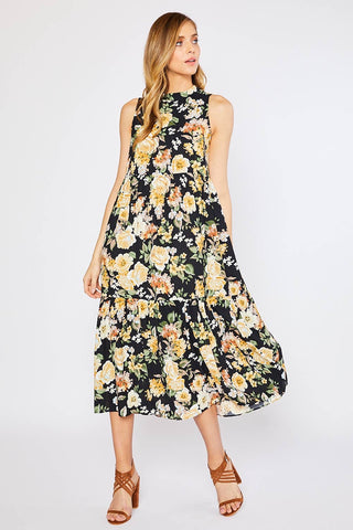 Floral Maxi Dress - La Mère Clothing + Goods