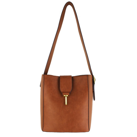 Bucket Bag With Clasp