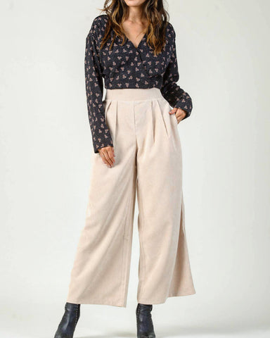 Wide Leg Corduroy Pant - La Mère Clothing + Goods