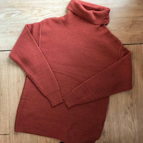Rust Sweater Tunic