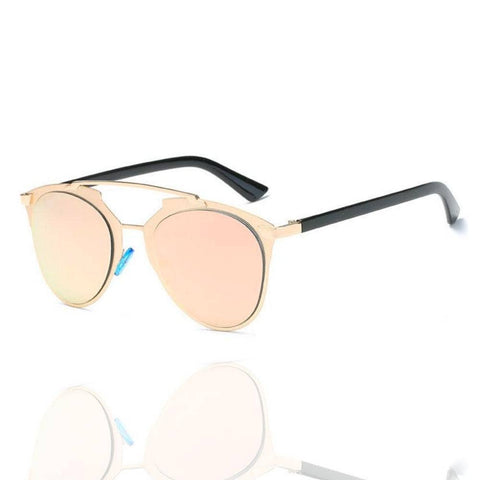 Rose Gold Cannes Sunglasses - La Mère Clothing + Goods