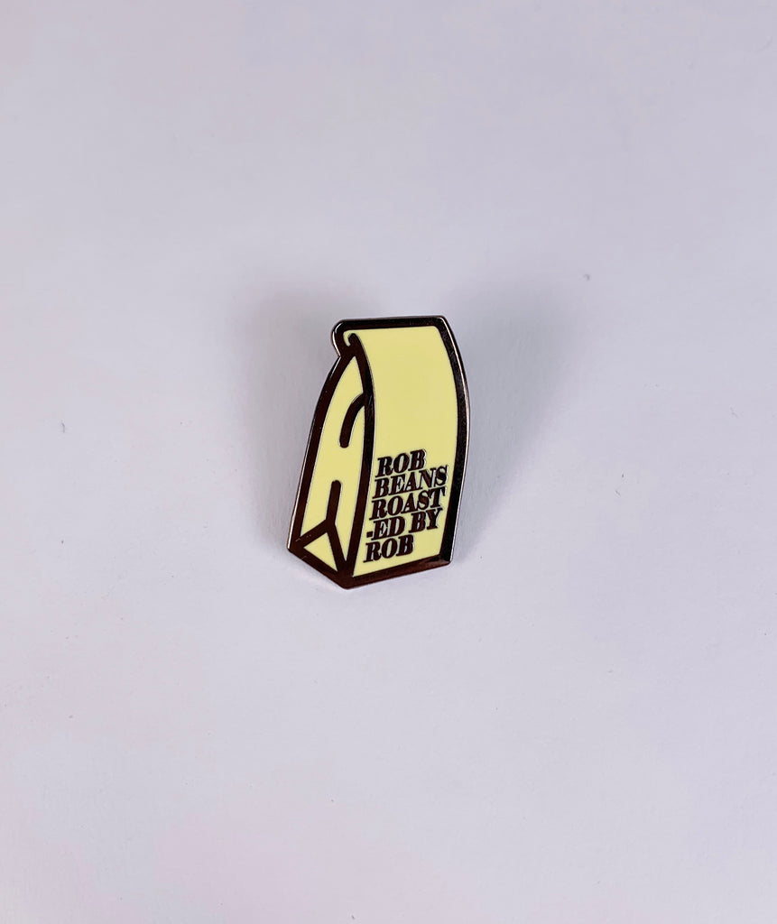 Robbeans Bag Hard Enamel Pin