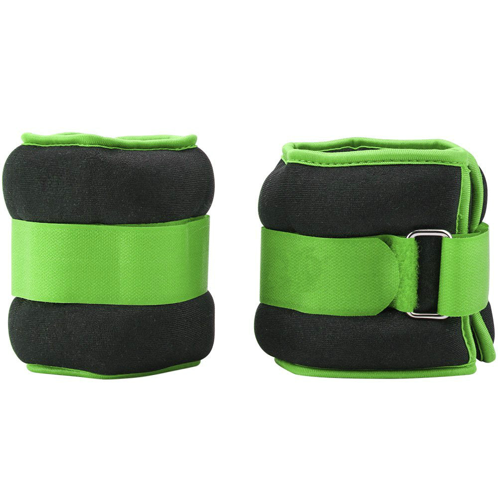 Exercise Ankle/Wrist Weights with Adjustable Strap