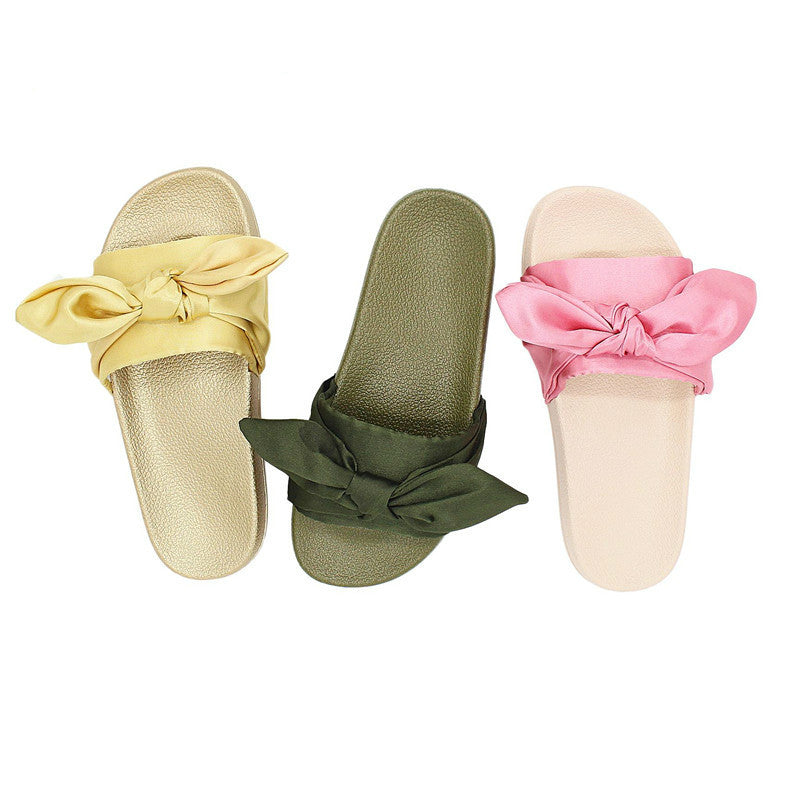 Women Tied Up Bow Open Toe Sandals