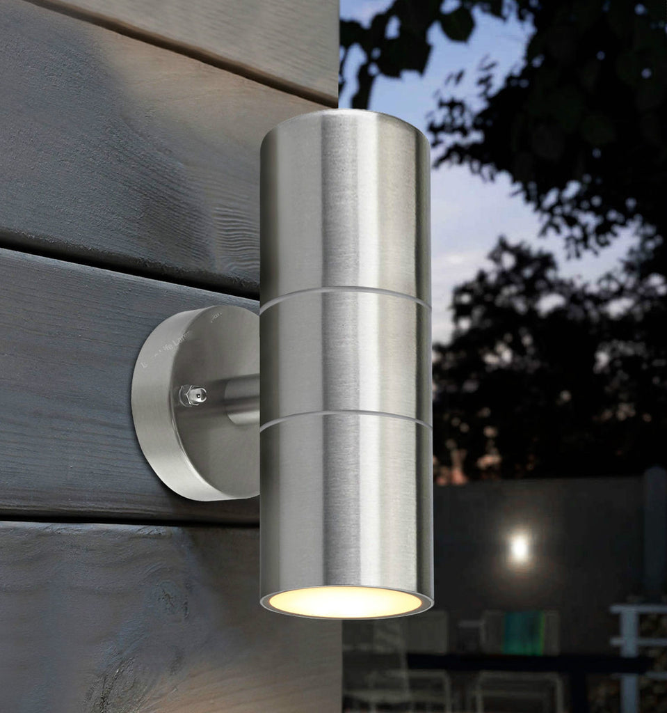 Stainless Steel Double Up Down Wall Spot Light