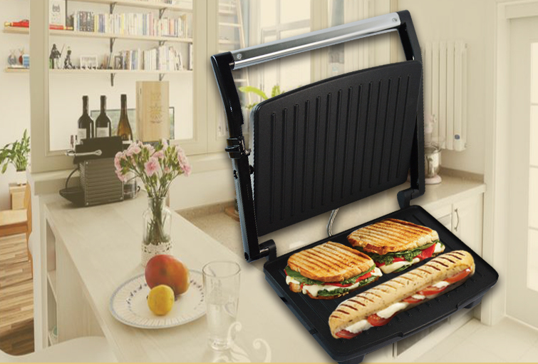 Health Grill Griller Sandwich Panini Toastie Maker Press