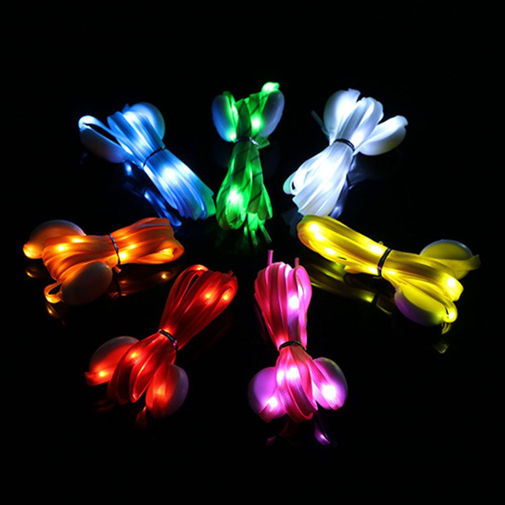 LED Light Up 3 Mode Nylon Shoelaces Laces