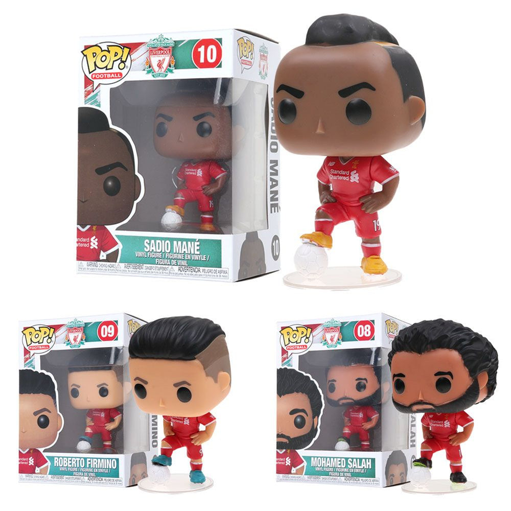 Liverpool Football Club Mohamed Salah Firmino MANE Funko Pop Vinyl Figure