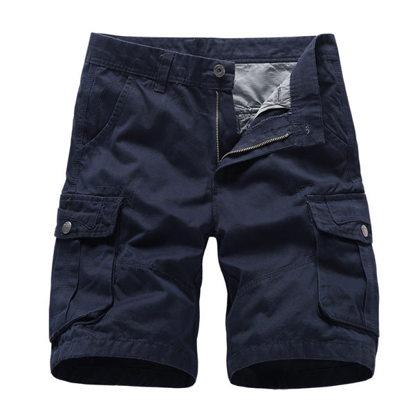 Men Cargo Shorts Knee Length Working Shorts