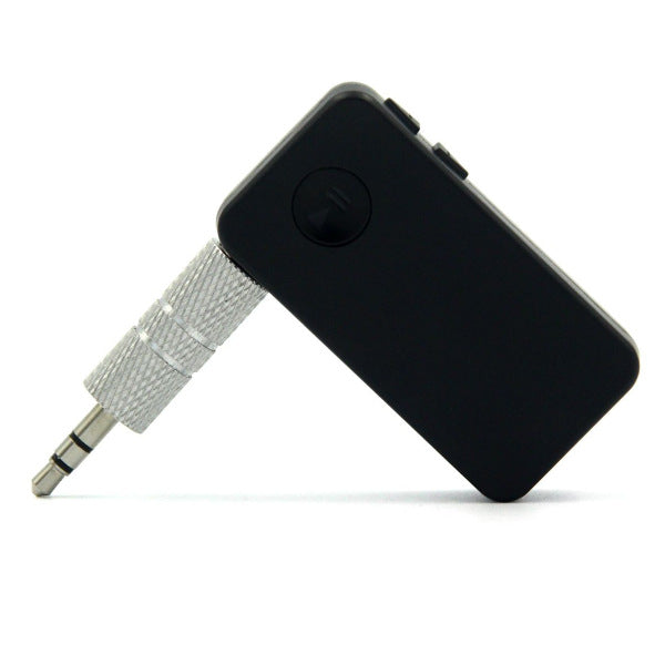 Wireless Bluetooth AUX Receiver with Built-in Microphone