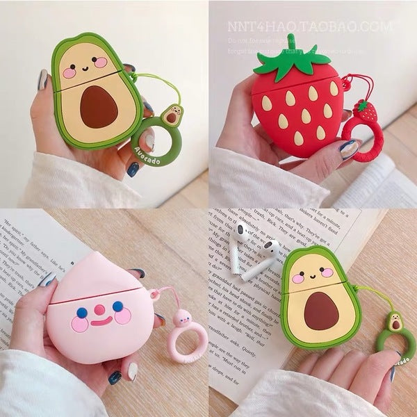 Cute 3D Cartoon Silicone Shockproof Airpods 1/2 Case Cover