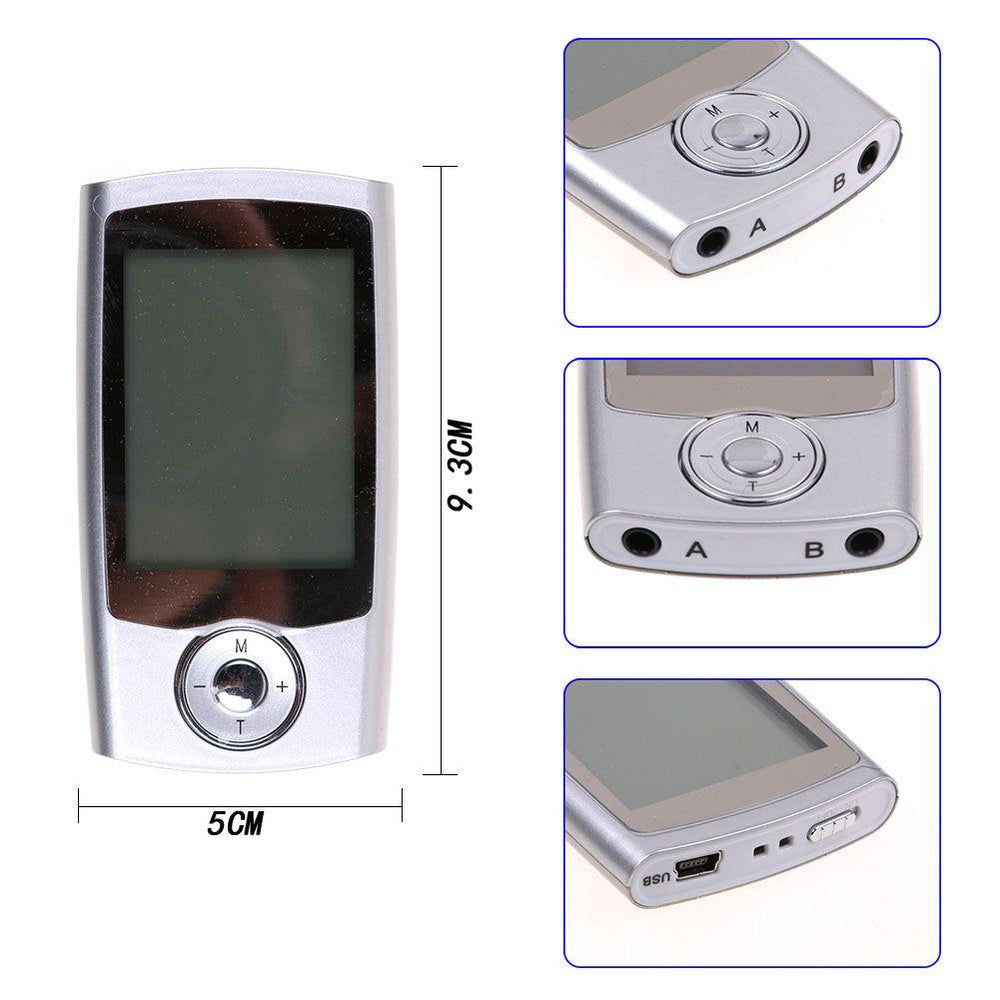 16 Mode TENS FDA Unit Digital Electronic Pulse Massager Therapy Muscle Body