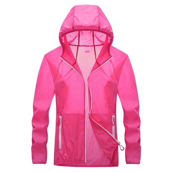 Ultra Thin Quick Dry UV Protection Hooded Jacket Skin Coat
