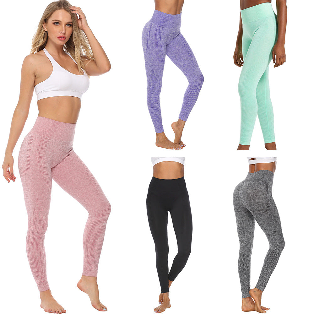 Women Push Up Yoga Pants Tight Seamless Sports Legging Pants