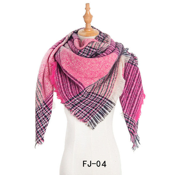 Women Soft Thick Large Oversized Scarf Pashmina Scarf Cape Shawl
