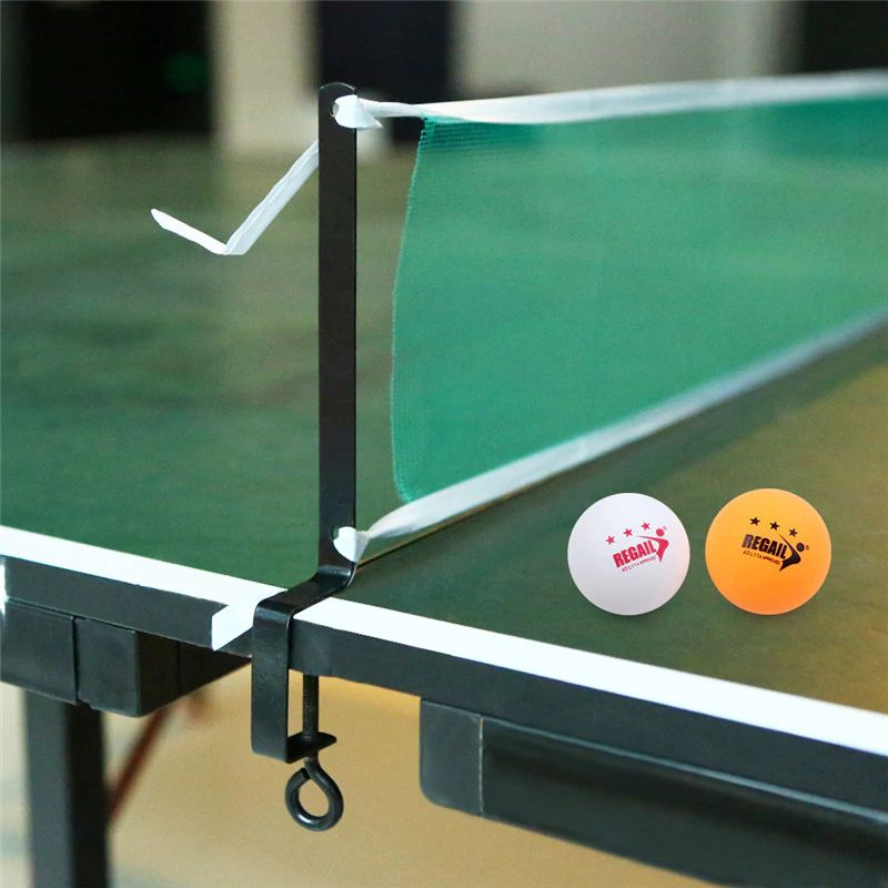 Table Tennis Net Post Clamp Stand Holder Set