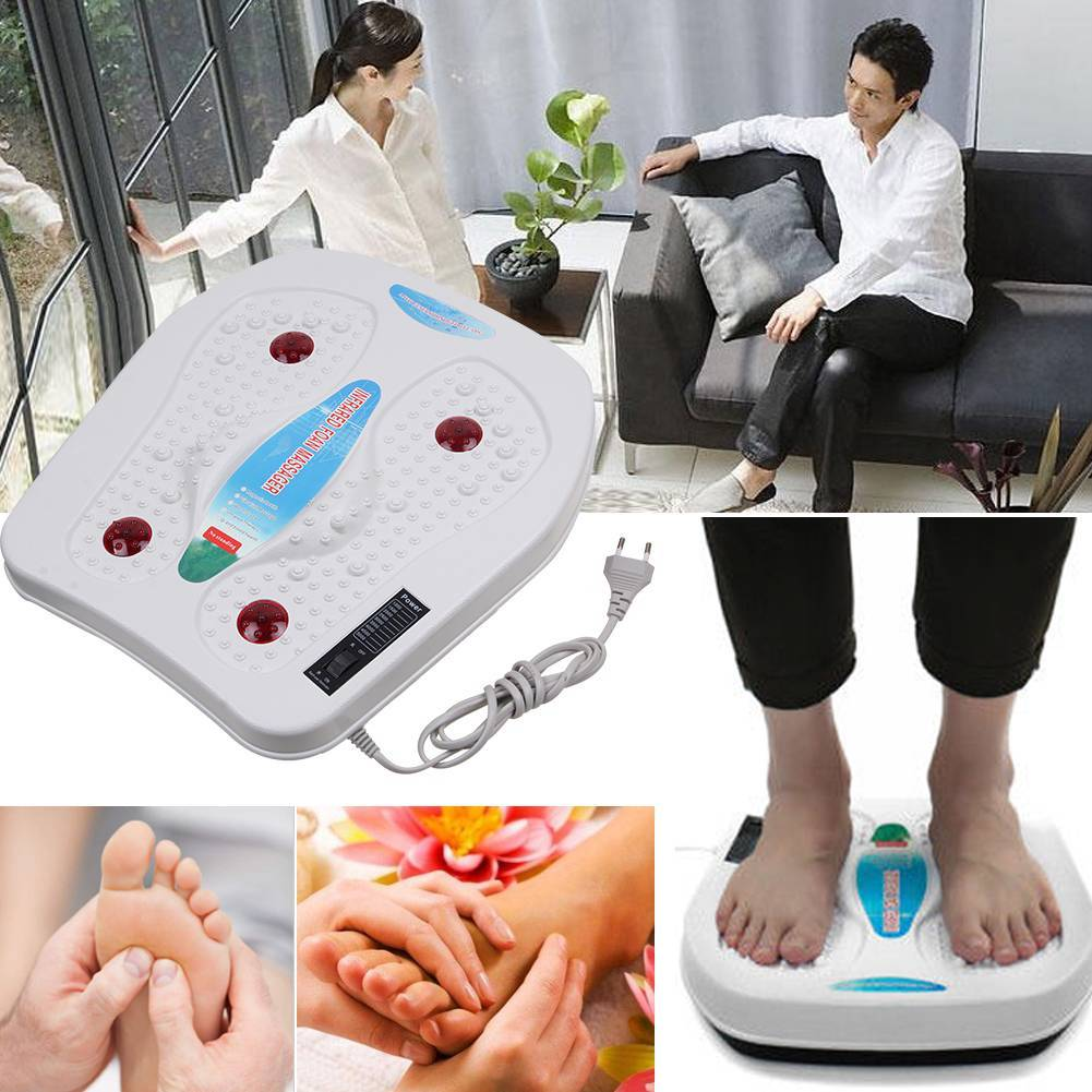 Electric Foot Massager Machine Vibration Massage Infrared Heating