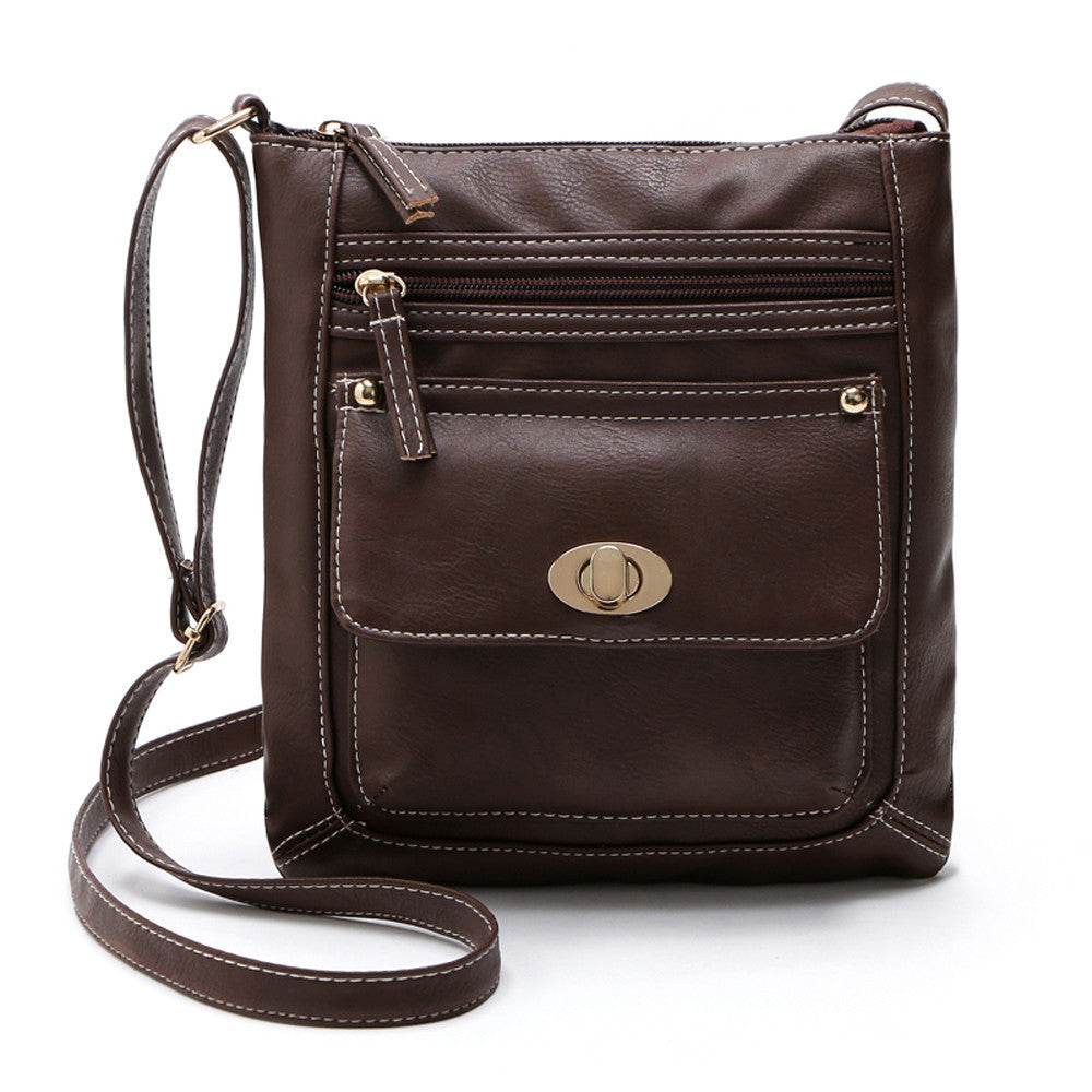 Women Crossbody Shoulder Bag with Clasp
