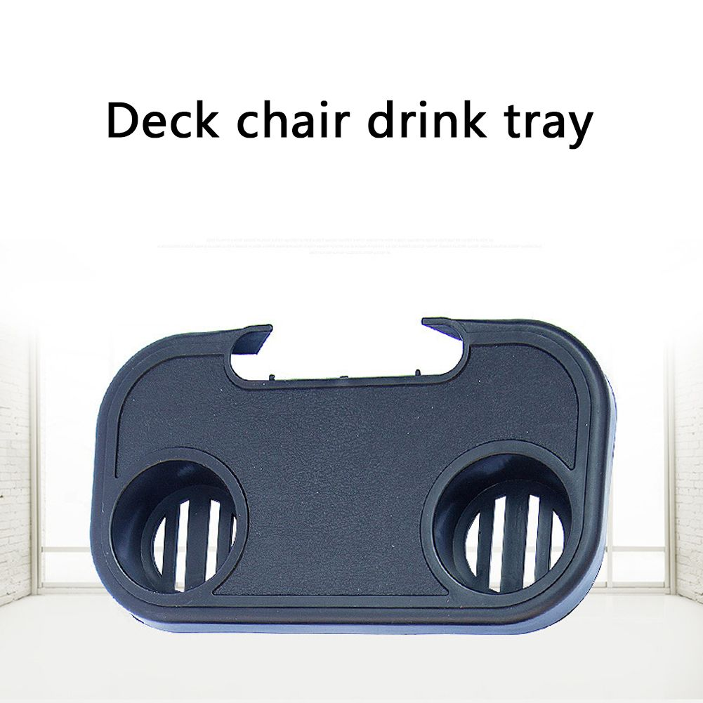 Portable Folding Outdoor Beach Garden Chair Side Tray