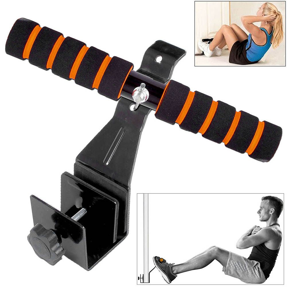 Pull Ups Sit Up Bar Doorway Under Door Attach Stand Abs Muscle Training