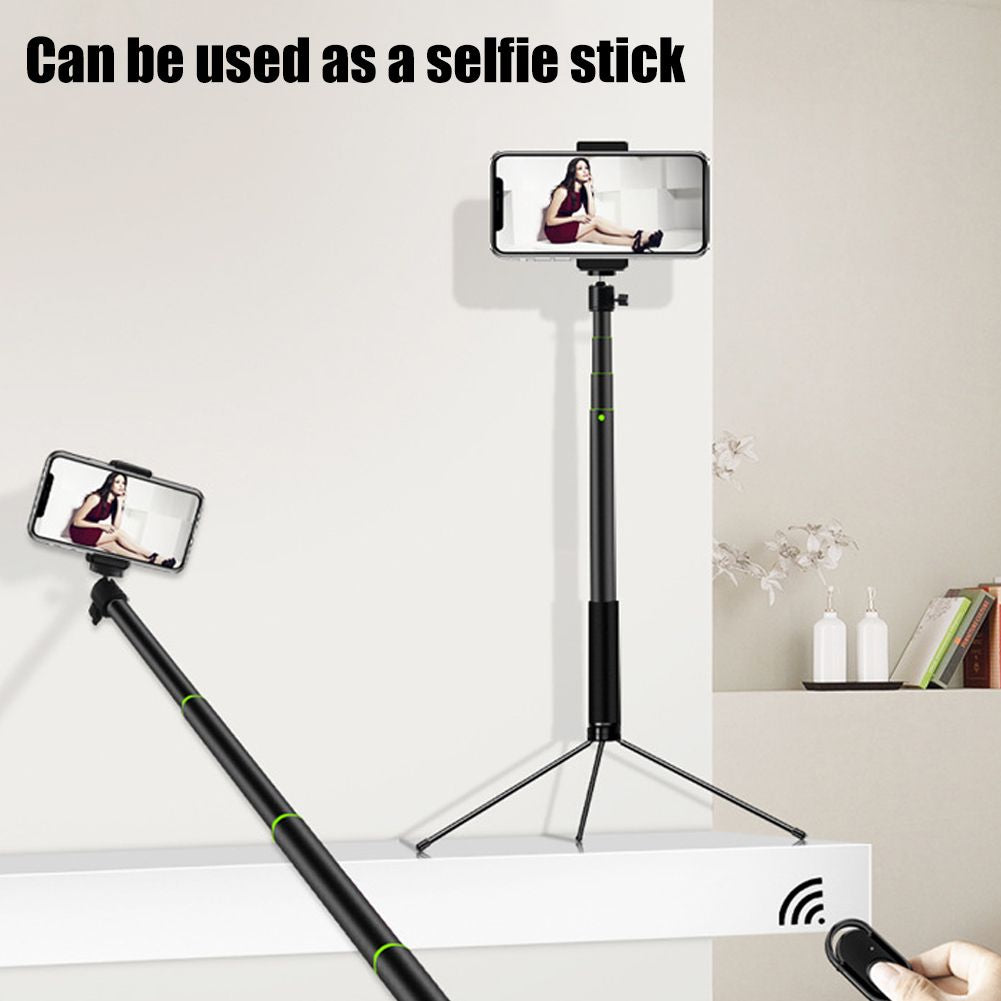5 in 1 20CM Ring Light LED Studio Photo Video Dimmable Lamp w/ Tripod Stand Selfie Stick