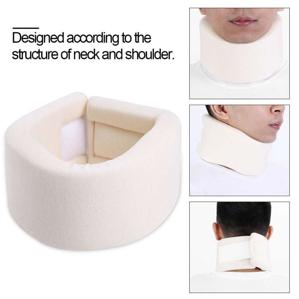 Adjustable Soft Foam Neck Brace Support Medical Cervical Collar Neck Pain