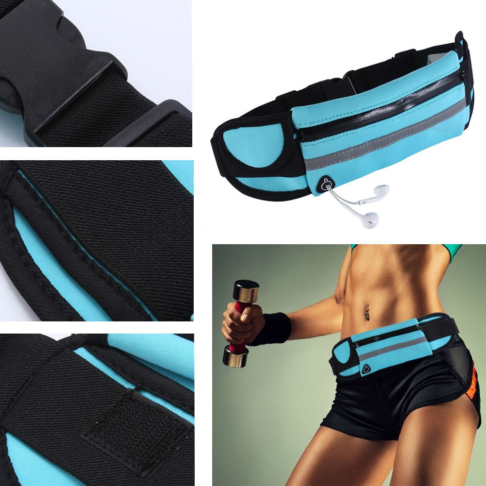 Sports Waterproof Travel Waist Belt Bag Phone  Pouch