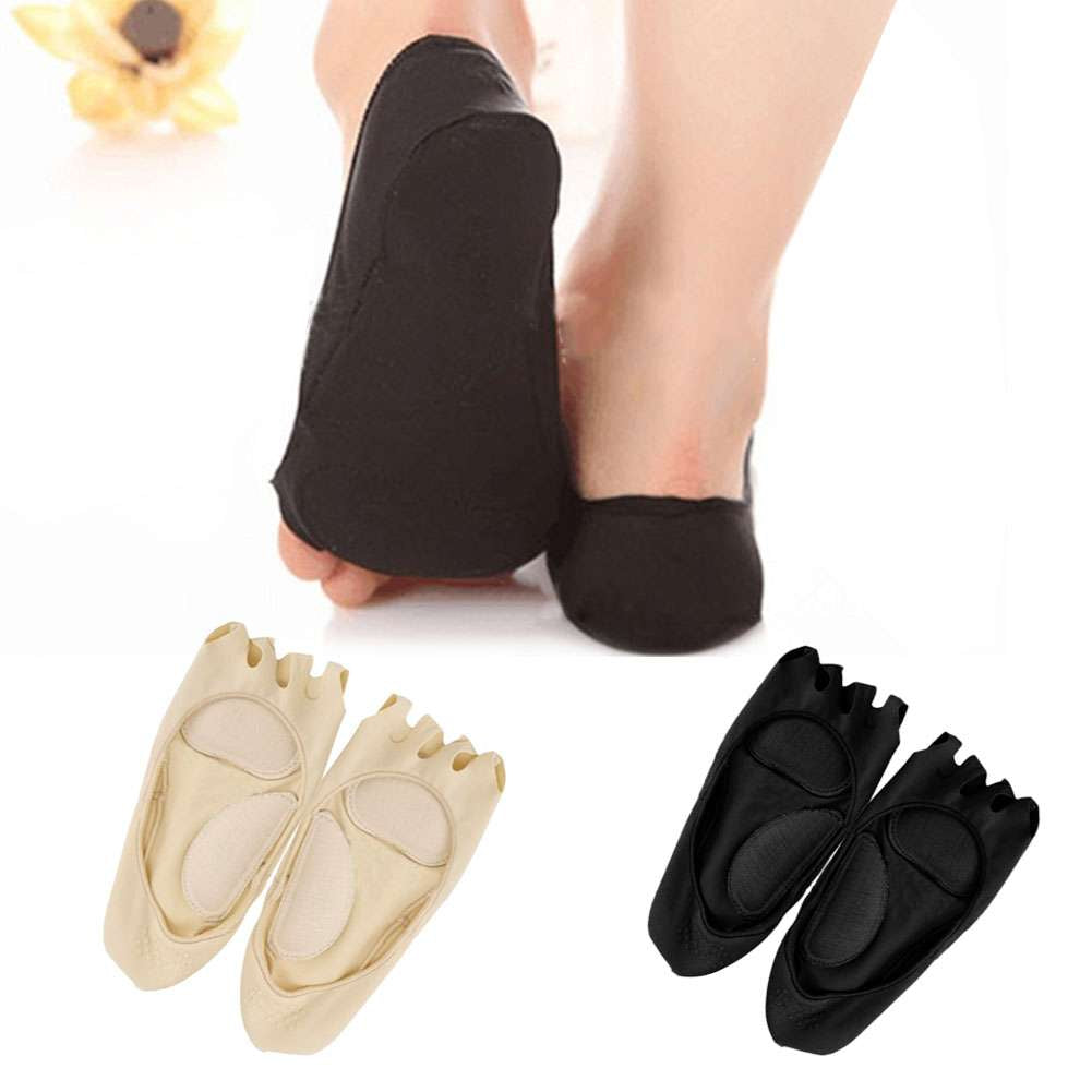Five Finger Toe Sock Open Invisible Boat Sock Anti-Slip Massage Socks