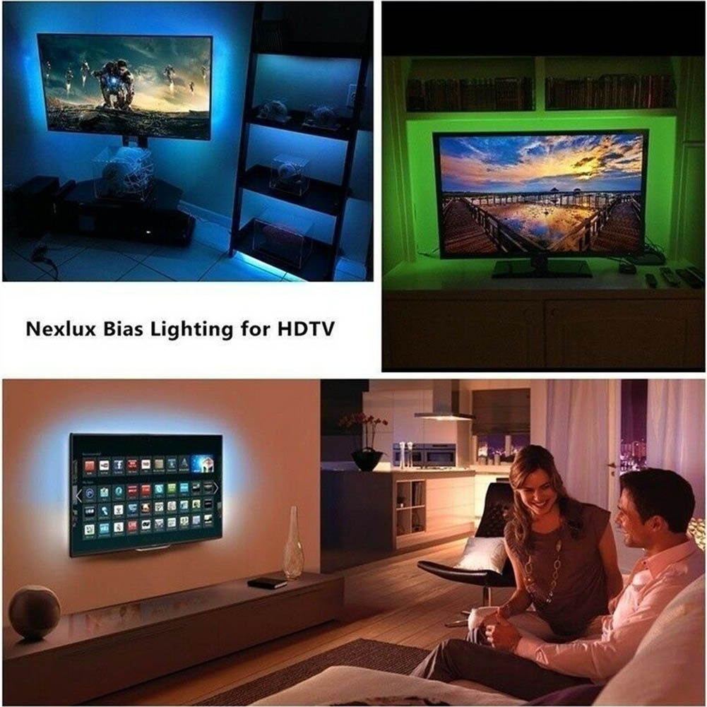 LED Strip Light USB Powered RGB Multi Color TV Backlight