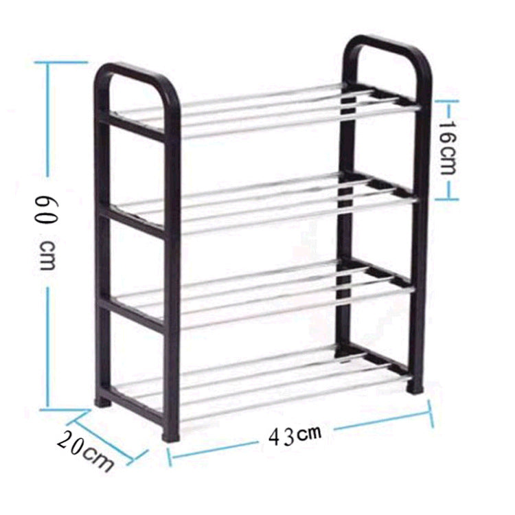 Four-Tier Compact Shoe Racks