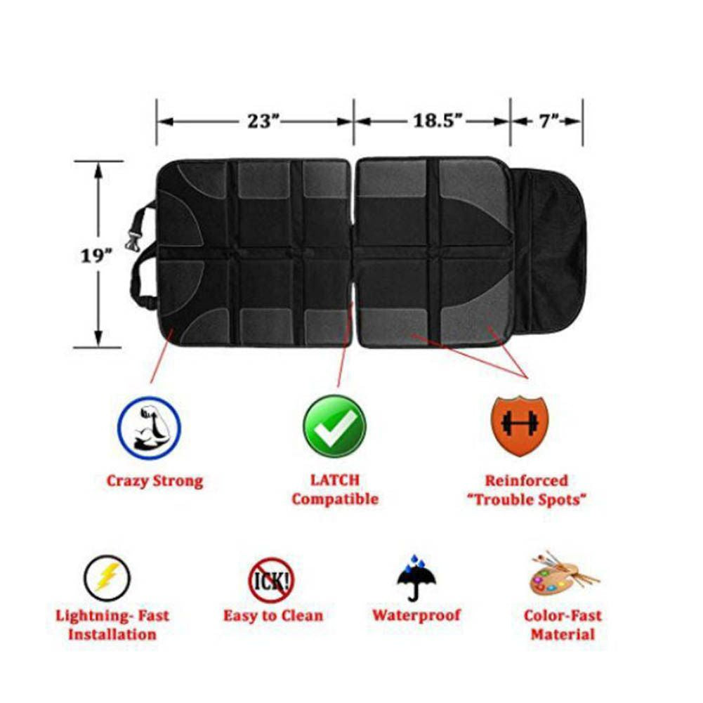 Waterproof Non-Slip Baby Car Safety Seat Protector Mat