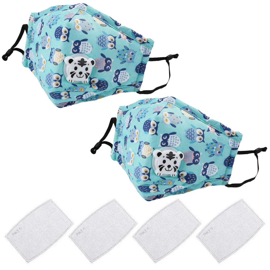 2 Pack Kids Washable Face Cover