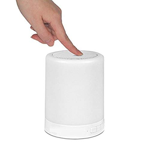 Portable Wireless LED Night Light Bluetooth Speaker