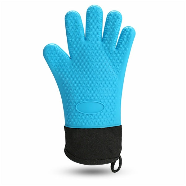 Heat Resistant Cooking Gloves Silicone Grilling Gloves