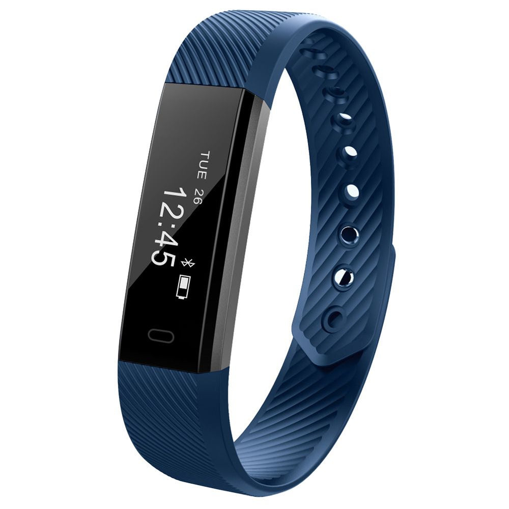 ID115 Smart Band Bluetooth Bracelet Pedometer Watch Wristband For Android IOS