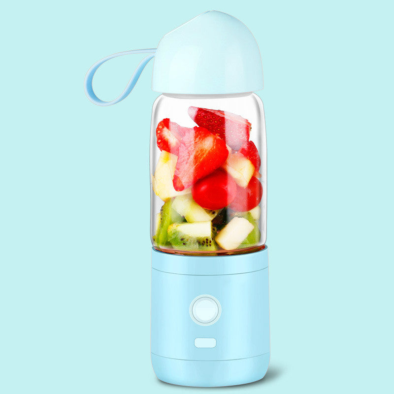 550ml Portable Electric Juicer Cup Separation Type Fruit Blender