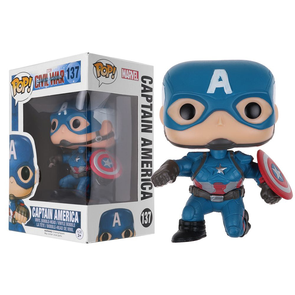 Funko Pop Marvel Captain Amercia Civil War 3 Action Figure Toy