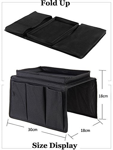 Sturdy Couch Sofa Armrest Organiser with Cup Holder Sofa Pouch