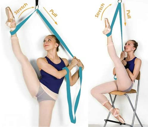 Door Leg Yoga Stretch Strap Band For Ballet, Yoga and Dance