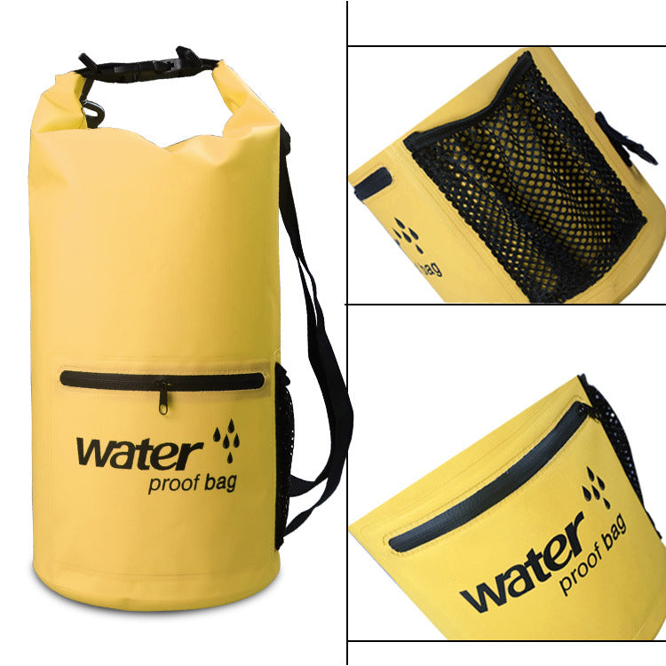 10L/20L Waterproof Zipper Bag with Floating  Adjustable Shoulder Strap