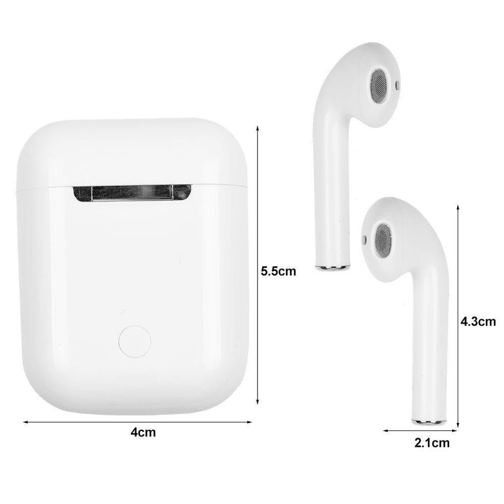 I14 TWS Wireless Bluetooth 5.0 Earphone Earbuds Siri Touch Control Stereo Headphone for IPhone